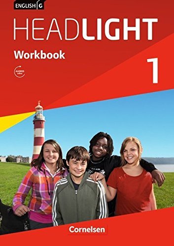 9783060326068: English G Headlight 01: 5. Schuljahr. Workbook mit Audio-Materialien