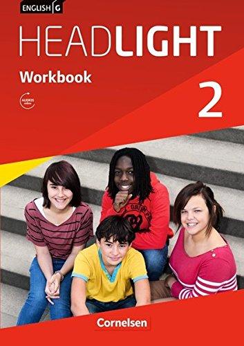 9783060326129: English G Headlight 02: 6. Schuljahr. Workbook mit Audios online