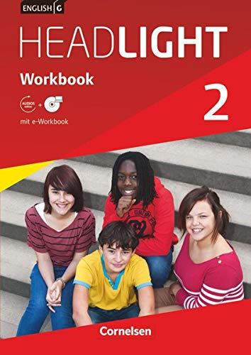 9783060326143: English G Headlight  02: 6. Schuljahr. Workbook mit CD-ROM (e-Workbook) und Audio-CD