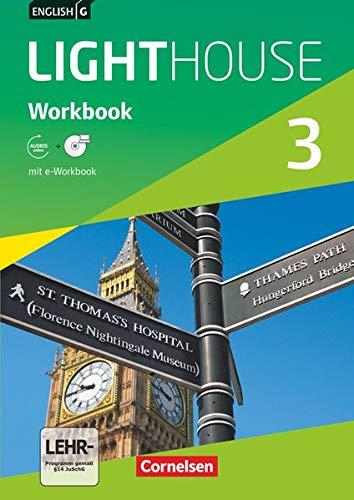 9783060326952: English G LIGHTHOUSE 03: 7. Schuljahr. Workbook mit CD-ROM (e-Workbook) und Audio-CD. Allgemeine Ausgabe