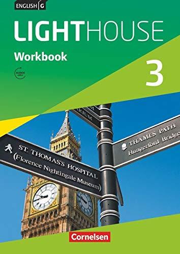 9783060326983: English G LIGHTHOUSE 3: 7. Schuljahr. Workbook mit Audios online. Allgemeine Ausgabe: Workbook mit Audios online