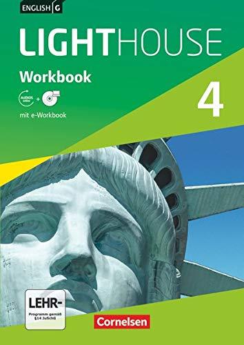 9783060327065: English G LIGHTHOUSE 4: 8. Schuljahr. Workbook mit CD-ROM (e-Workbook) und Audio-Materialien: Audio-Dateien auch als MP3
