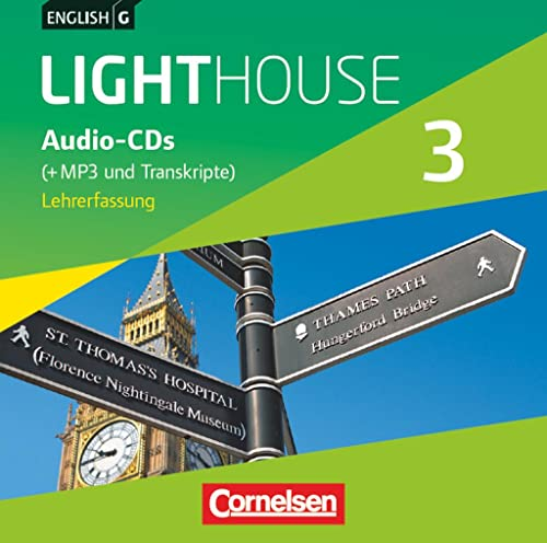 9783060327324: English G LIGHTHOUSE 3: 7. Schuljahr. CDs. Allgemeine Ausgabe. Vollfassung: Audio-Dateien auch als MP3