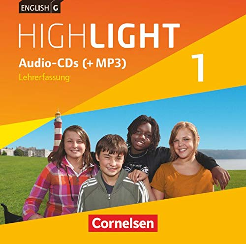 9783060327782: English G Highlight 01: 5. Schuljahr. Audio-CDs Hauptschule