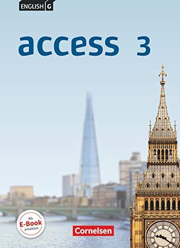 9783060328055: English G Access 03: 7. Schuljahr. Schülerbuch