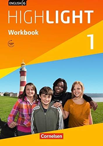 9783060328598: English G Highlight 01: 5. Schuljahr. Workbook mit Audio-CD. Hauptschule