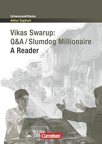 9783060328666: Slumdog Millionaire. Schwerpunktthema Abitur Englisch: A Reader. Textheft