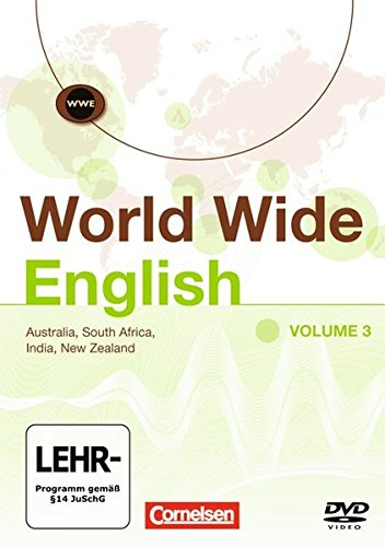 World Wide English III. Australia, South Africa, India, New Zealand: Video-DVD [Alemania]