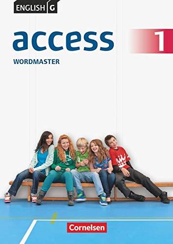9783060330805: English G Access 01: 5. Schuljahr. Wordmaster mit Lösungen: Ting-fähiges Vokabelübungsheft