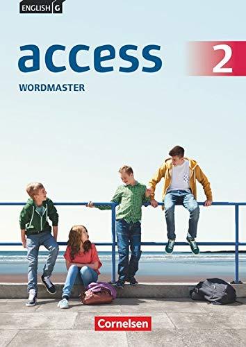 9783060330812: English G Access 02: 6. Schuljahr. Wordmaster mit Lösungen: TING-fähiges Vokabelübungsheft