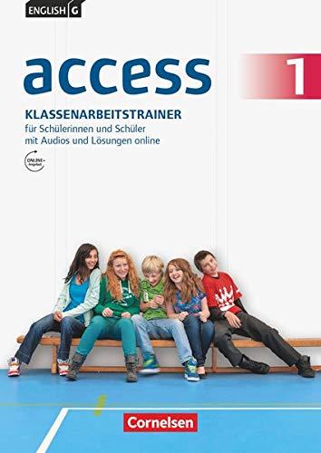 9783060330867: English G Access 01: 5. Schuljahr. Klassenarbeitstrainer mit Audios und Lösungen online