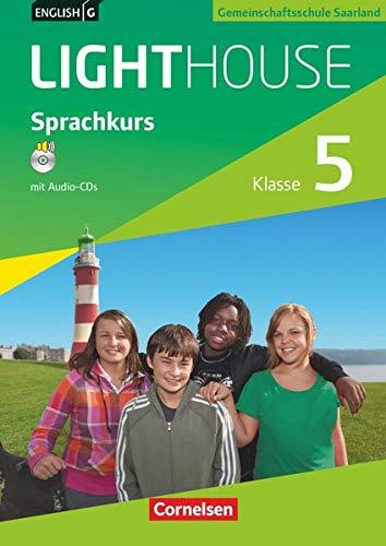 9783060331253: English G LIGHTHOUSE 1: 5. Schuljahr. Arbeitsheft mit CD. Ausgabe Saarland