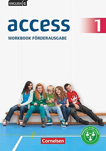 9783060338252: English G Access 01: 5. Schuljahr. Workbook Förderausgabe