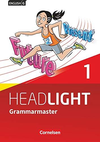 9783060360956: English G Headlight Band 1: 5. Schuljahr - Grammarmaster mit Lösungen: Allgemeine Ausgabe