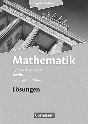 9783060400157: Leistungskurs MA-2 - Qualifikationsphase - Lösungen zum Schülerbuch