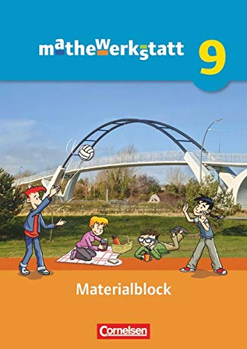 9783060400379: mathewerkstatt 9. Schuljahr - Mittlerer Schulabschluss - Allgemeine Ausgabe - Materialblock: Arbeitsmaterial mit Wissensspeicher