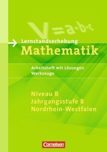 9783060400584: Lernstandserhebungen Mathematik 8. SJ B. Werkzeuge NRW