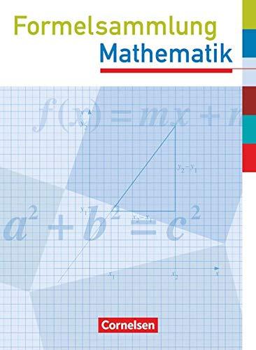9783060401024: Formelsammlung Mathematik. Sekundarstufe I. Westliche Bundesländer (außer Bayern): Mit eingelegten Formelseiten für die Prüfung