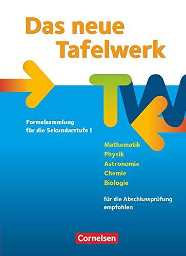 9783060401093: Das neue Tafelwerk 2011. Schülerbuch. Östliche Bundesländer