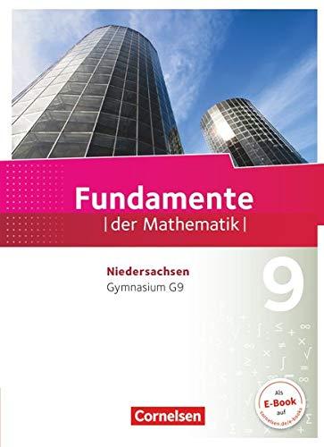 9783060401499: Fundamente der Mathematik 9. Schuljahr - Gymnasium Niedersachsen - Schülerbuch