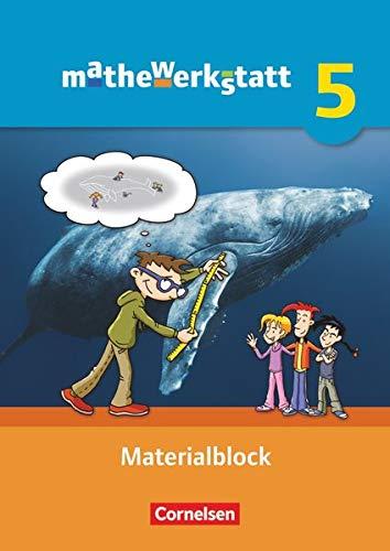 mathewerkstatt 5. Schuljahr. Materialblock. Mittlerer Schulabschluss: Arbeitsmaterial: B�rbel Barzel, Ulrich