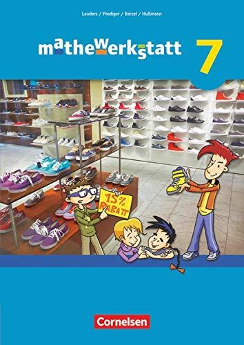 9783060402489: mathewerkstatt 7. Schuljahr. Schülerbuch. Mittlerer Schulabschluss - Allgemeine Ausgabe
