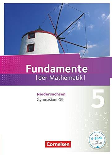 9783060403486: Fundamente der Mathematik 5. Schuljahr. Schülerbuch Gymnasium Niedersachsen