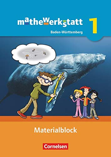 9783060404247: mathewerkstatt 01. Materialblock. Mittlerer Schulabschluss Baden-Württemberg: Arbeitsmaterial mit Wissensspeicher