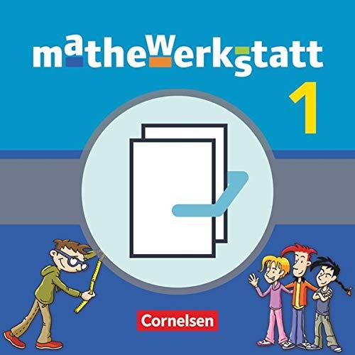 9783060404254: mathewerkstatt 1. Schülerbuch mit Rechenbausteine-Training und Materialblock. Mittlerer Schulabschluss Baden-Württemberg: 40423-0 und 40424-7 im Paket