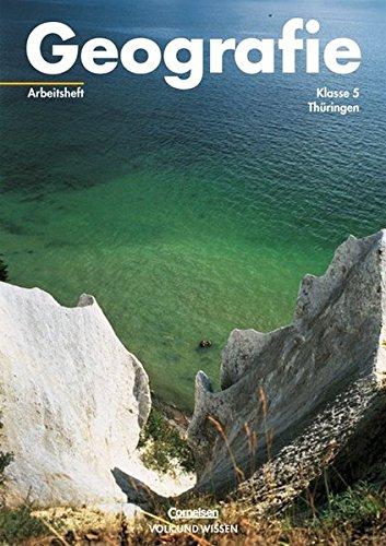 9783060405756: Geografie 5. Arbeitsheft. Thüringen: Mit fächerübergreifenden Themen und Projektaufgaben