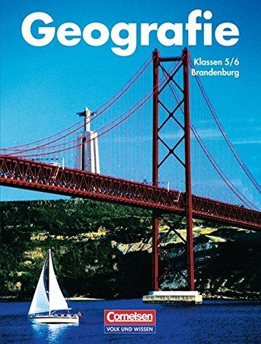 9783060405862: Geografie. Brandenburg - Bisherige Ausgabe: Geographie. Mensch und Raum 5/6. Schulerbuch. Neubearbeitung. Brandenburg