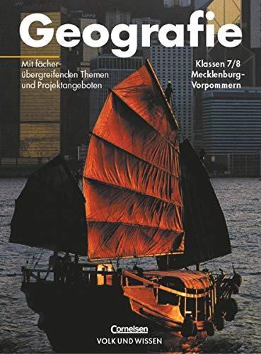 Geografie 7./8. Schuljahr Schülerbuch Mecklenburg-Vorpommern: Margret Buder; Jutta