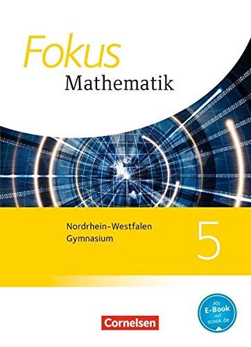 9783060414864: Fokus Mathematik 5. Schuljahr. Schülerbuch. Kernlehrpläne Gymnasium Nordrhein-Westfalen