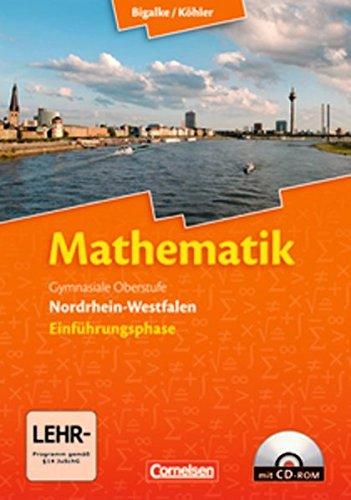 9783060419067: Mathematik Sekundarstufe II 10. Schuljahr. Einführungsphase - Schülerbuch mit CD-ROM. Nordrhein-Westfalen