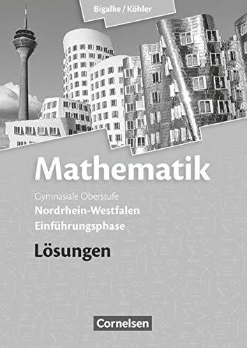 9783060419159: Mathematik Einführungsphase Sekundarstufe II. Lösungen zum Schülerbuch. Nordrhein-Westfalen