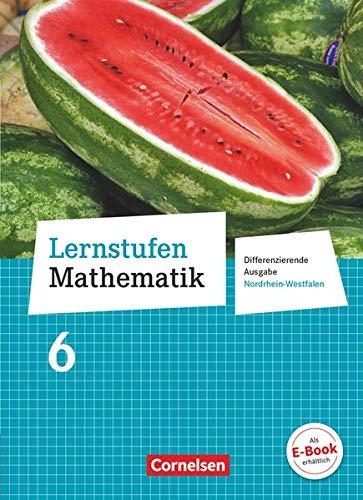 9783060421060: Lernstufen Mathematik 6. Schuljahr. Schülerbuch. Differenzierende Ausgabe Nordrhein-Westfalen