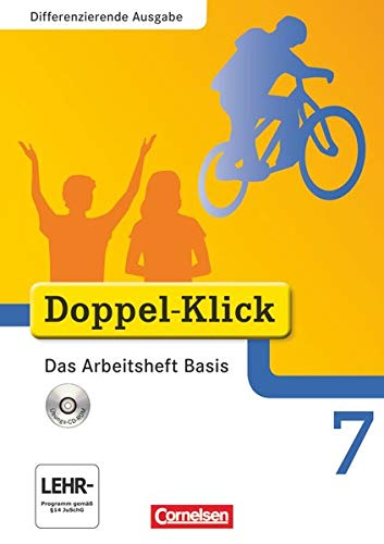 9783060601479: Doppel-Klick 7. Schuljahr. Das Arbeitsheft Basis. Differenzierte Ausgabe: Arbeitsheft mit CD-ROM