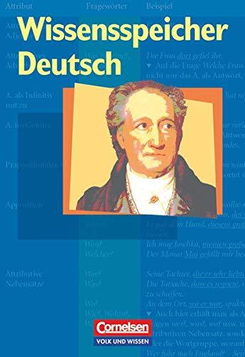 9783060601950: Wissensspeicher Deutsch (CV/VWV): Nachschlagewerk