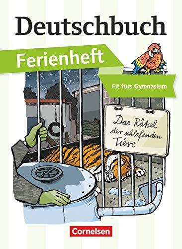 9783060603428: Deutschbuch Ferienheft Gymnasium: Vorbereitung Klasse 5: Das Rätsel der schlafenden Tiere