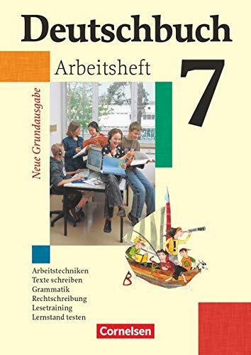 9783060608041: Deutschbuch 7. Schuljahr. Arbeitsheft mit Lösungen. Neue Grundausgabe