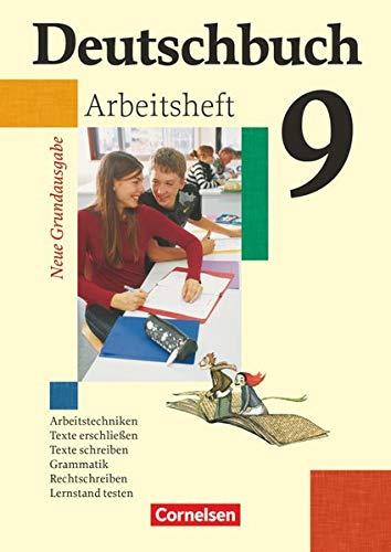 9783060608065: Deutschbuch - Neue Grundausgabe 9. Schuljahr. Arbeitsheft mit Lösungen