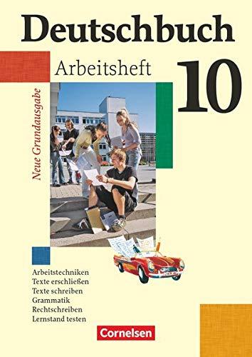 9783060608072: Deutschbuch 10. Schuljahr. Arbeitsheft mit Lösungen