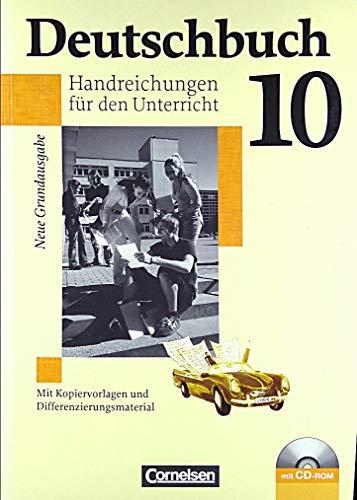 9783060608133: Deutschbuch 10 Handreichungen für den Unterricht Neue Grundausgabe [Taschenbu...