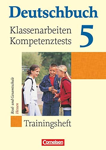 9783060608430: Deutschbuch 5. Schuljahr. Klassenarbeiten und Lernstandstests. Hessen: Trainingsheft mit Lösungen