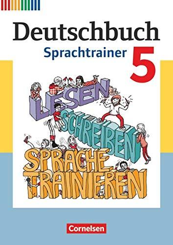 9783060609659: Deutschbuch Fördermaterial 5. Schuljahr. Sprachtrainer: Arbeitsheft mit Lösungen