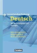 9783060609871: Deutsch. 8. Schuljahr. Lernstandserhebungen B. Nordrhein-Westfalen. Ãœbungsheft mit Lösungen (Lernmaterialien)