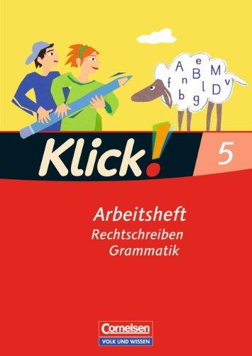 9783060609970: Klick! Deutsch. 5. Schuljahr. Schreiben. Arbeitsheft. Östliche Bundesländer und Berlin