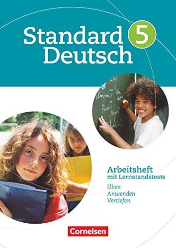 9783060618071: Standard Deutsch 5. Schuljahr. Arbeitsheft mit Lösungen. Grundausgabe: Arbeitsheft mit Lernstandstests. Üben, anwenden und vertiefen