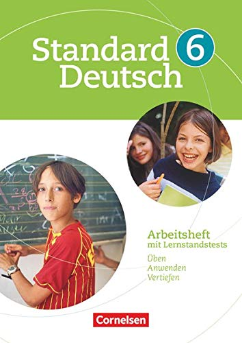 9783060618088: Standard Deutsch - Grundausgabe: Standard Deutsch 6. Schuljahr. Arbeitsheft mit Losungen. Grundausgabe