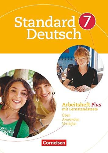 9783060618095: Standard Deutsch 7. Schuljahr. Arbeitsheft Plus